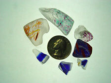 Assorted Surf Tumbled Sea Glass Lot 2054