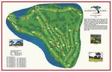 Harding Park Golf Course -1925-Watson&Whiting - Vintage Golf Course Map print