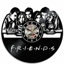 Friends Popular TV Series Vinyl Record Wall Clock Creative Silent Christmas Gift