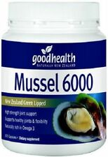 Good Health HIGH STRENGTH NZ Green Lipped Mussel 6000 - 300 Capsules