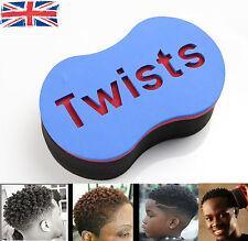 Magic Barbero Giros Original Esponja Cepillo de pelo de espuma para temible Loc Afro Espiral Rizos