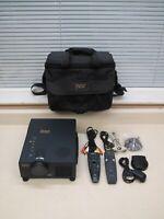 Proxima Ultralight DS1 800x600 4:3 SVGA DLP Projector w/ Remotes Cables Case
