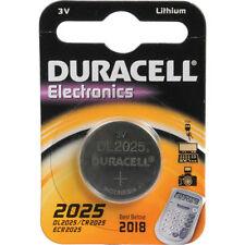 Piles jetables Duracell pour équipement audio et vidéo CR2025