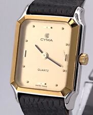 Cyma Cal. 578.001 Vintage Watch Gold Plated Lady 20 Watch Non Working 3WC
