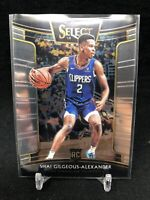 2018-19 Shai Gilgeous-Alexander Panini Select Concourse Rookie #7 F50