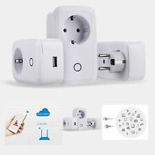 Wifi Cell Phone Wireless Remote Control Switch Timer Power Smart Home Socket EU