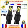 2 x Ampoule 12 LED T20 7443 W21 5W Blanc Xénon Feux De Jour Recul Brouillard
