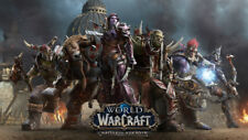 World of Warcraft Battle for Azeroth Silk Poster Wallpaper 24X13 inch