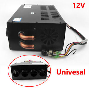 12V Underdash Compact Air Heater Heat Speed Switch Defroster Demister Universal