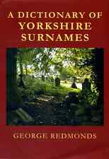 A Dictionary of Yorkshire Surnames