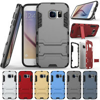 Rugged Armor Hybrid Rubber Protective Case Cover For Samsung Galaxy S6 Edge Plus