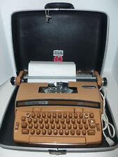Vintage Smith Corona Coronet Super 12 Electric WORKING Typewriter w Hard Case NM