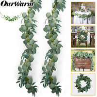 1/3/5 Artificial Eucalyptus Garland Hanging Rattan Vine Ivy Wedding Flower Plant