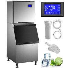 Vevor Commercial Ice Maker Ice Machine 360440lb Split Ice Cube Maker 195234pcs