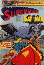 BRONZE AGE + EHAPA + DC + GERMAN + 4 + 1976 + SUPERMAN + SUPERGIRL +