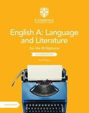English A: Language and Literature for the Ib Diploma Coursebook von Brad Philpot (2019, Taschenbuch)