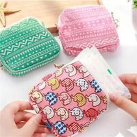 NEW! Sanitary Towel Napkin Pad tampon Purse Holder Case Bag Organizer Pouch LA