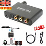 DAC Digital Optical Toslink Coaxial to Analog Audio Converter Adapter L/R RCA L8