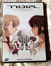 Noir Volume Seven 7: The End of the Matter Anime DVD NEW
