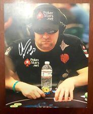 World Series Poker Champion Chris Moneymaker Autographed 8X10 Inscribed 2003