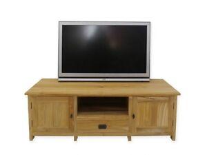 Lowboard Tv-Lowboard Mesa de Tele De Madera de Teca Macizo 145CM Ancho (4996)