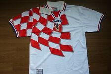 Croatia 100% Original Soccer Football 1998 World Cup L Still BNWT Rare [2399]