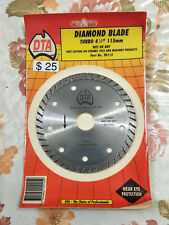 115mm Dry/ Wet/Turbo Diamond Blade Cutting Disc Saw  Disk Marble Tile Ceramic