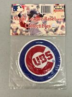 "Chicago Cubs Classic 4""x4"" MLB Baseball Logo Vibrant Embroidery Patch Decor NEW"
