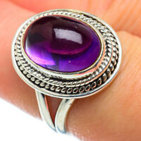 Amethyst 925 Sterling Silver Ring Size 7.5 Ana Co Jewelry R48752F