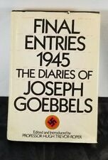 FINAL ENTRIES 1945 THE DIARIES OF JOSEPH GOEBBELS V24