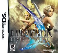 Final Fantasy XII 12 Revenant Wings (Nintendo DS) Brand New Factory Sealed
