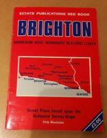 Brighton Street Plan Karte Straßen Verzeichnis 11th Revision