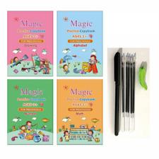 Reusable Magic Practice Copybook Number Book Writing Preschooler Pen Accessories
