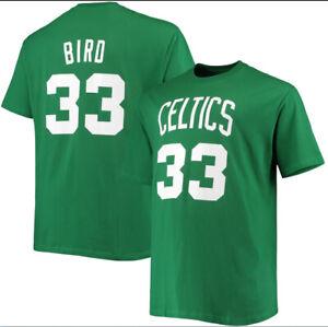 NBA Celtics Tatum, Brown, Walker, Bird Jersey Style T-Shirt
