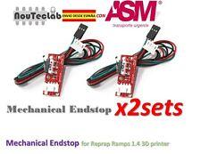 2pcs Mechanical Endstop for Reprap RAMPS 1.4 3D printer ENVIO RAPIDO