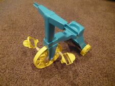 Vintage 1967 Tippee Toes Doll Trike Riding Blue Tricycle Mattel Plastic USA