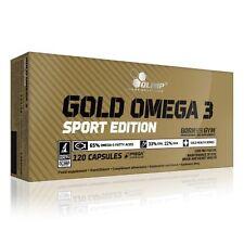 Gold Omega 3 Sport Edition Olimp (120 Kapseln; 13,28EUR/100g) + 5EUR-Gutschein