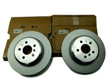 pad capteur /& GT disques de frein arrière et pads disque set kit Pour BMW 330d E90 2005