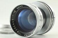 [Excellent+++++] CANON SERENAR 50mm f1.9 L Leica Screw LTM L39 Mount JAPAN