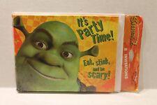 Hallmark Shrek 2 Birthday Party Invitations w/ Envelopes Package of 8