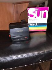 Vintage Original Polaroid Sun 660 Autofocus Instant 600 Film CameraNew