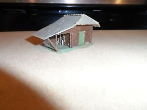 HO SCALE SMALL CABIN