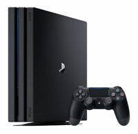 Sony PlayStation PS4 Pro 1TB Black Console - Launch Model CUH-7016B NEW <<@>>