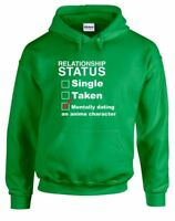 Mentally Dating An Anime Character, Printed Hoodie
