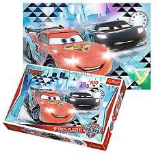 Trefl 100 Pièces Enfants Garçons Disney Pixar Cars Glace Aventure McQueen Puzzle