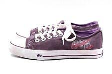 DOCKERS Damen Sneaker Gr. 38 UK 5 Lila Textil Stoffschuhe Sommerschuhe