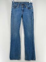 Levi's CAPITAL E SWANK low slim boot Blue Medium Wash Jeans Women's 26