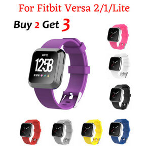 Replacement Band for Fitbit Versa2 Versa 1 Versa Lite Silicone Strap Wristband