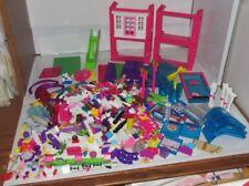 Lego & Mega Bloks Brick Lot Girl Pastel House Pool Animals Dolls Spa Clothes +++