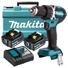 Makita 18V 4.0Ah Battery Brushless Hammer Drill Driver Combo Kit - AU WARRANTY